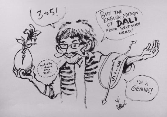 Craig Thompson draws Edmond Baudoin