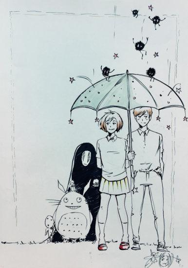 Emma Vieceli Homage to Miyazaki