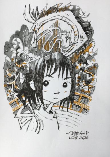 Jonathan Edwards Homage to Miyazaki