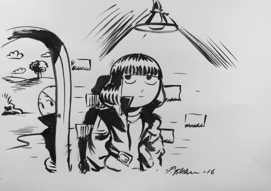Petteri Tikkanen Drawing 1
