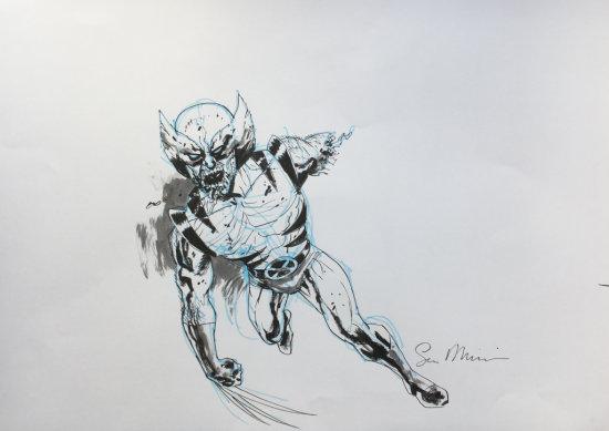Sean Phillips draws Wolverine