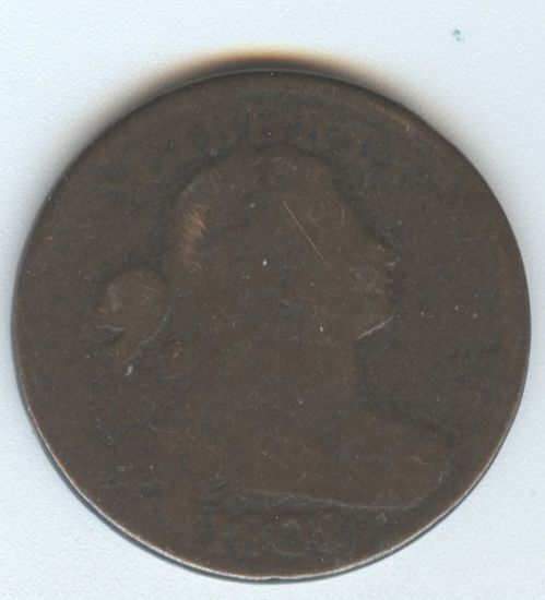 1802 NO STEMS LARGE CENT