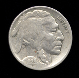 1929 ... Buffalo / Indian Head Nickel