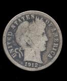 1912-S ... Barber Dime