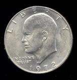 1972 ... UNC ... Ike Dollar