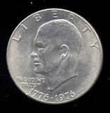 1976 ... UNC ... Ike Dollar