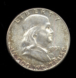 1951 ... CH BU  UNC ... Franklin Half Dollar