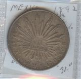 1892-As/ML MEXICO 8 REALE