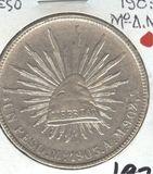 1905-Mo/AM MEXICO ONE PESO