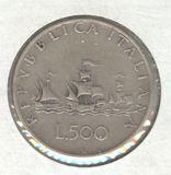 1961 ITALY 500 LIRE
