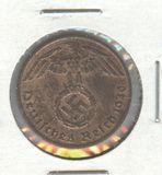 1940-J GERMANY 1 PFENNIG
