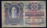 1913 ... 20 Korona ... Old Banknote