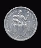 1949 ... UNC ... France De Oceanie Coin
