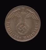 1937-D  ...  1 Pfennig  ...  Nazi German Coin