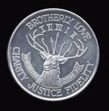 Elks Lodge 30 ... Token