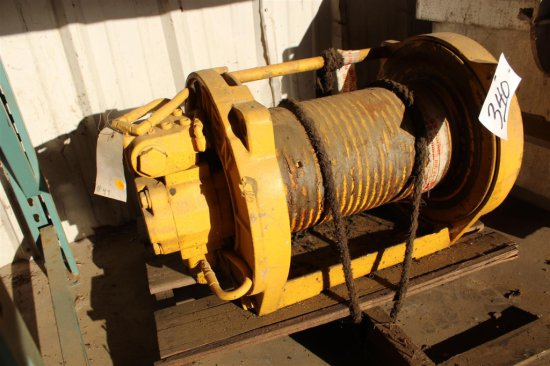 pd15-75p braden winch (parts only)