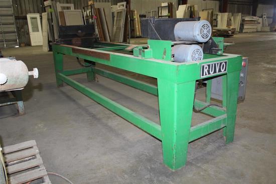 Ruvo DBL End Trim Saw Model 1300 Serial #1323