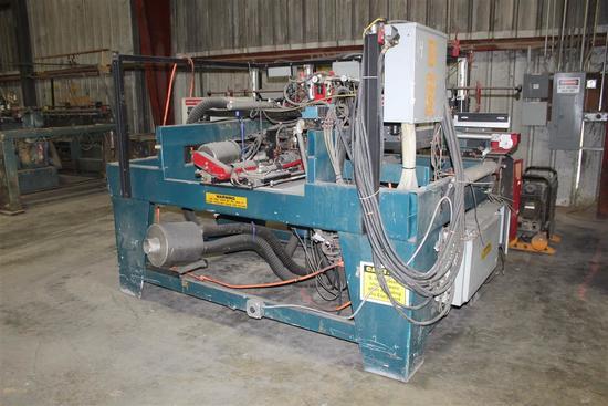 WISE Door Machine Model 8000 Serial 8000-9