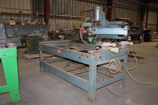 ACE Door Cut Out Machine Serial # 7292