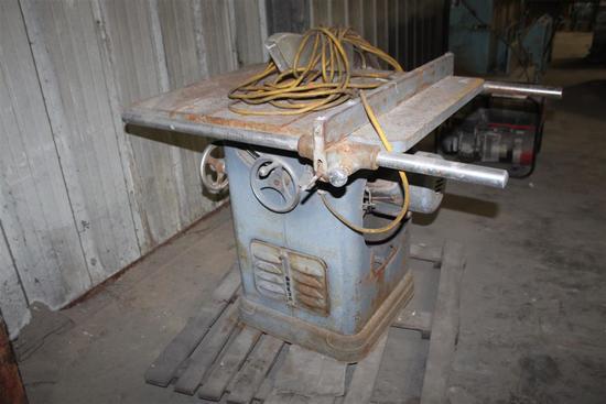 Delta Table Saw Model 34-450 Serial DD7010