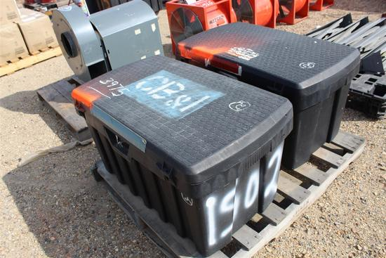 Lot of (2) Work Boxes