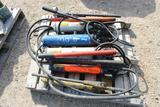 Lot of Manual Hyd Pumps