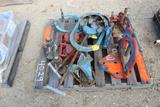 Lot of Pipe Clamps