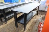 Heavy Duty Steel Shop Table
