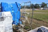 Cotterman Roll Around Platform Ladder