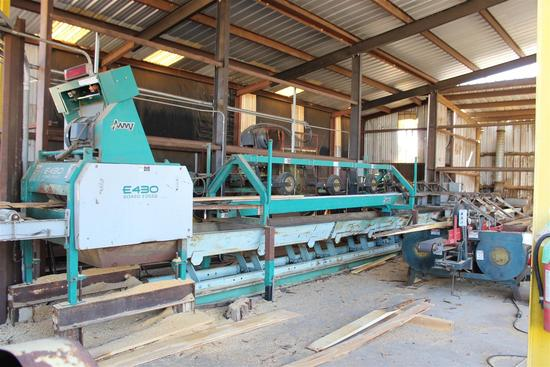 Sawmill, Industrial & Building Material Auction