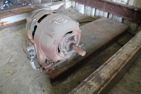 ELECTRIC MOTOR ON I-BEAM