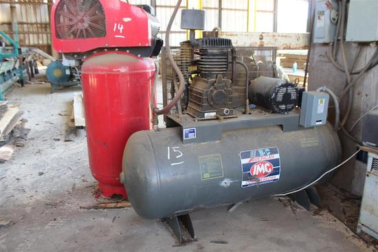 AMERICAN IMC 5312HND Shop Air Compressor, s/n 70638