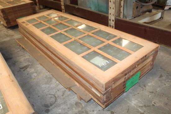 """(7) 1 3/4""""X30""""X96"""" Fir Glass Doors"""