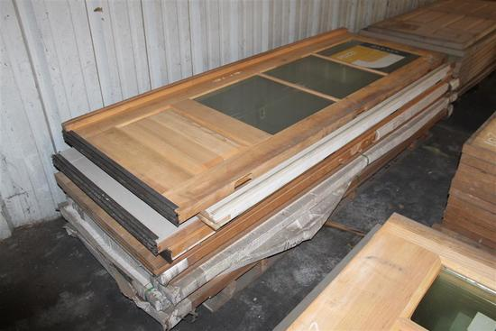 Lot of Misc Custom Hardwood Doors