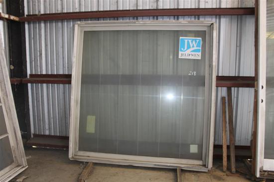 """(1) Jeld Wen Arox 6' 7""""X 6' 7"""" Window"""
