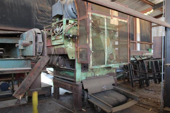 "GANG RIP SAW, Hvy Duty, 18"" Arber, 30+ Blades, Control Panel Included"