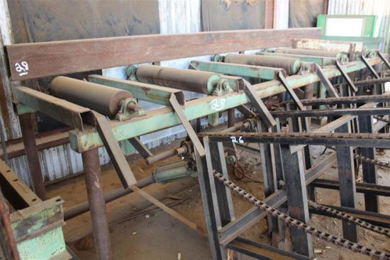 OUTFEED TABLE (Hvy Duty for Gang Rip Saw), 4' W x 16' L