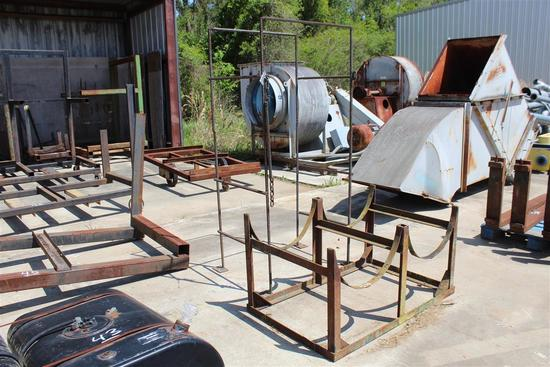 DRUM HOLDER & STORAGE STAND (METAL)