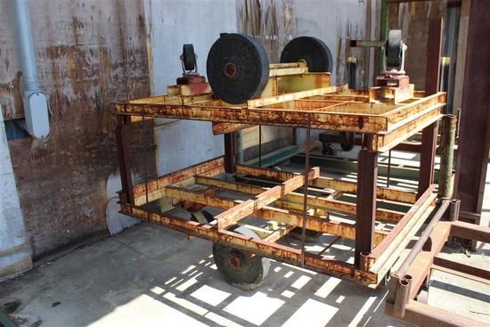 (2) HVY DUTY LUMBER CARTS