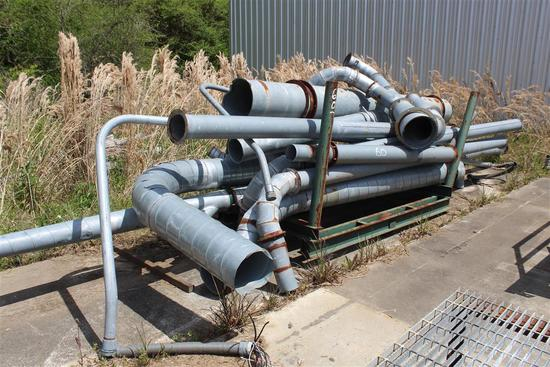 DUCT WORK SYSTEM FOR DUST COLLECTOR