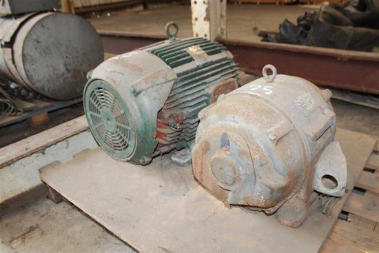 (2) ELECTRIC MOTORS, WESTINGHOUSE 50HP & 25HP