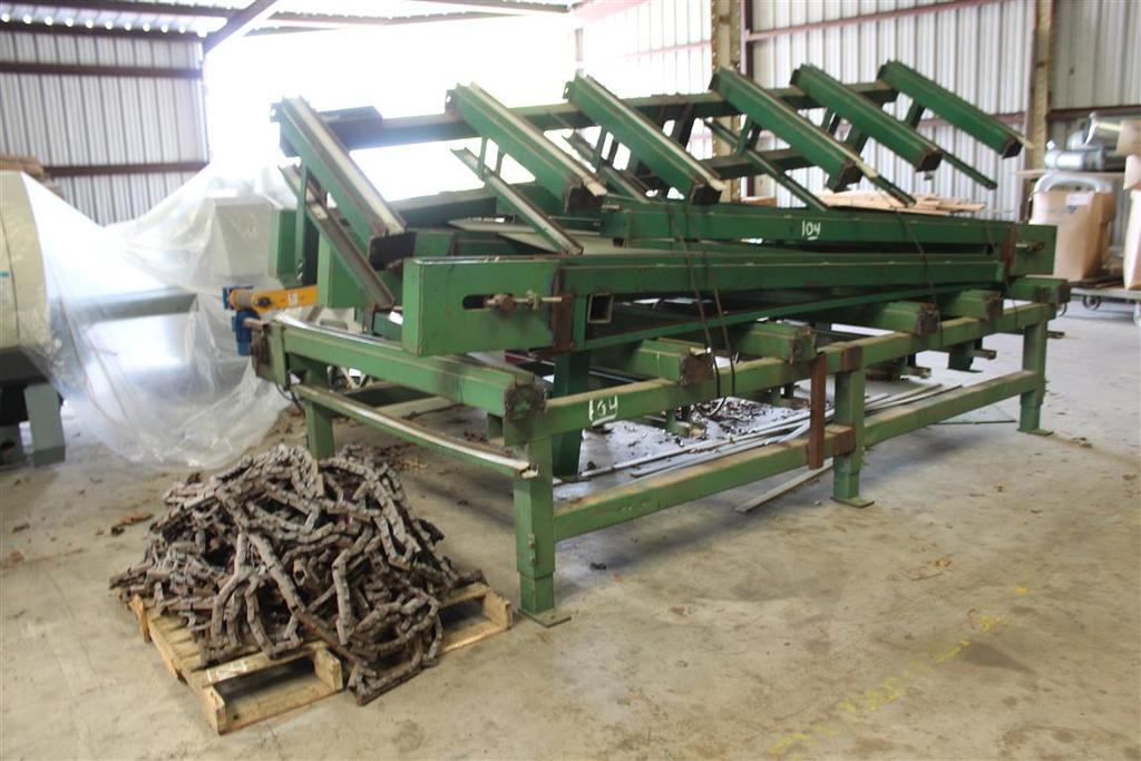 FEED CHAIN DECK & CHAIN