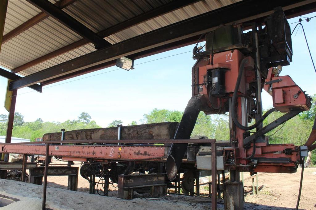 WOOD-MIZER LT70 Portable Saw Mill, 7132 hrs, 40' Deck
