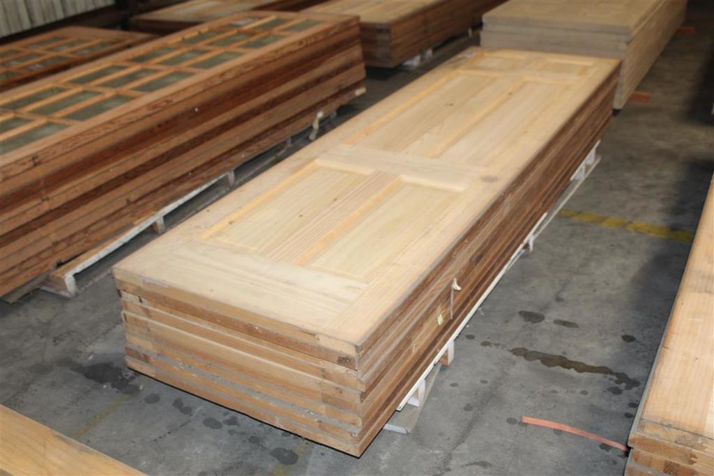 """(9) 1 3/8""""X30""""X96"""" 6 Panel Solid Pine  Doors"""