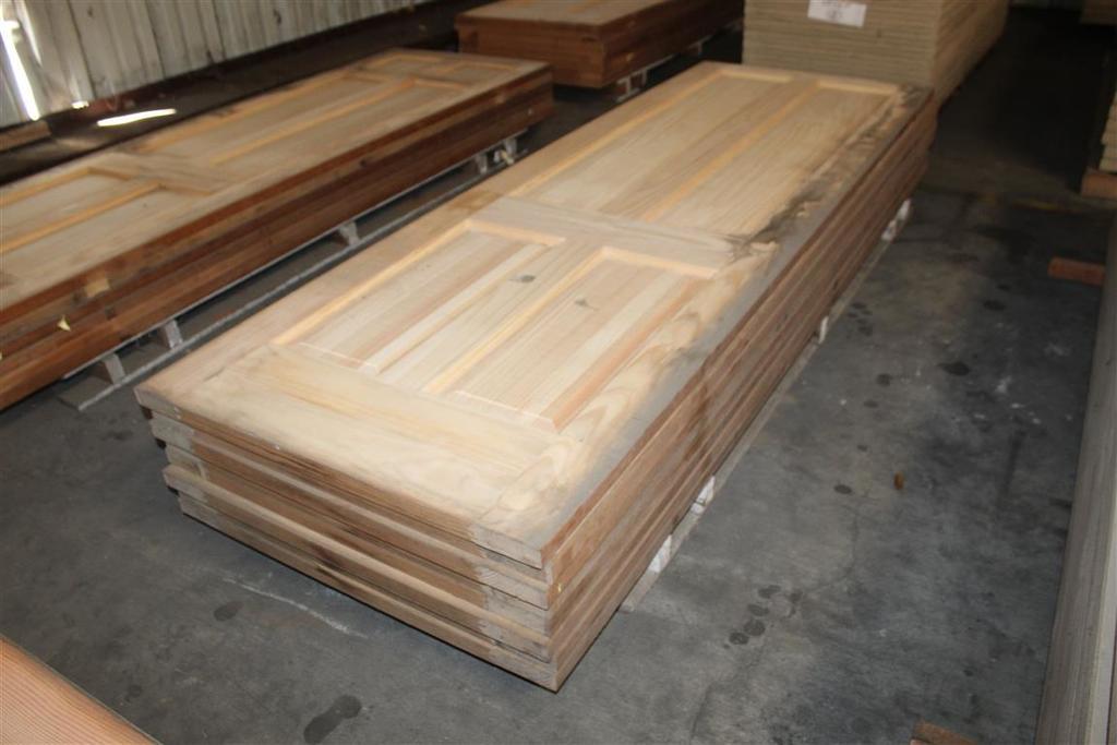 """(8) 1 3/8""""X32""""X96"""" 4 Panel Solid Pine Doors"""