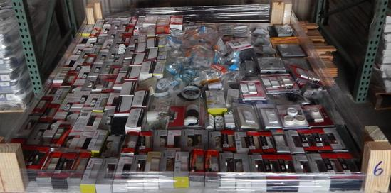 UNUSED 4x4 PALLET OF ELECTRICAL SUPPLIES