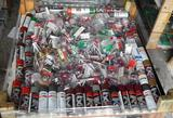UNUSED 4X4 PALLET OF SPRAY PAINT AND PLUMBING SUPPLIES