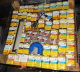 UNUSED 4x4 PALLET OF PAINTING CHEMICALS