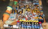 UNUSED 4x4 PALLET OF CAR CLEANING SUPPLIES AND GARDENING SUPPLIES