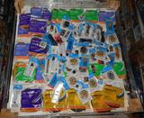 UNUSED 4X4 PALLET OF LIGHTING REPAIR SUPPLIES AND WEATHER STRIPPING